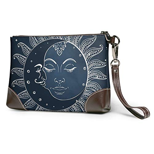 Women Leather Clutch Purse...