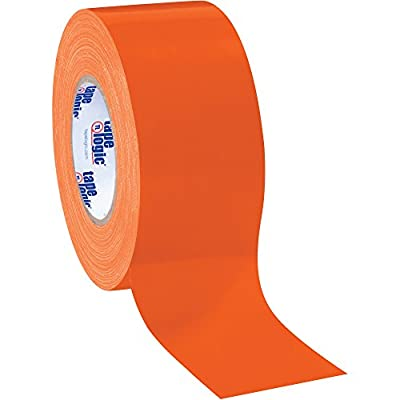 """Top Pack Supply Tape Logic Duct Tape, 10 Mil, 3"""" x 60 yds. Orange (Case of 3) by Top Pack Supply"""