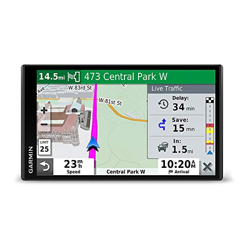 Garmin DriveSmart 65 & Traffic: GPS Navigator with a 6.95