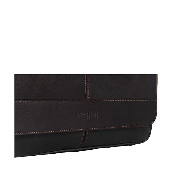 Full-Grain Colombian Leather Crossbody Laptop Case 5
