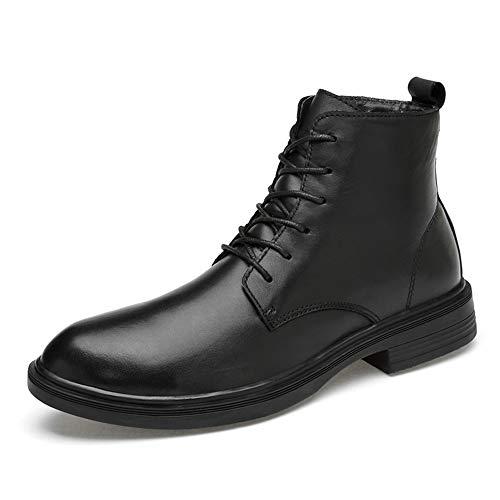 6fd1e5d5 Eu Para Aire Motocicleta Libre Al Combate 41 Cuero color Warm Black Con Los  Tamaño De Genuino Hombres Negro Botas Tobillo Ruanyi Cordones Zapatos  AqO1FPg