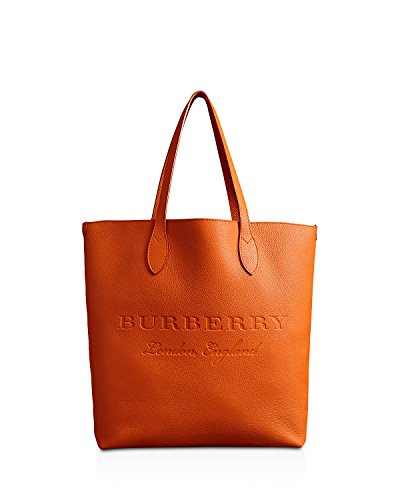 Burberry Remington Embossed Leather Tote - Burberry Leather Handbag