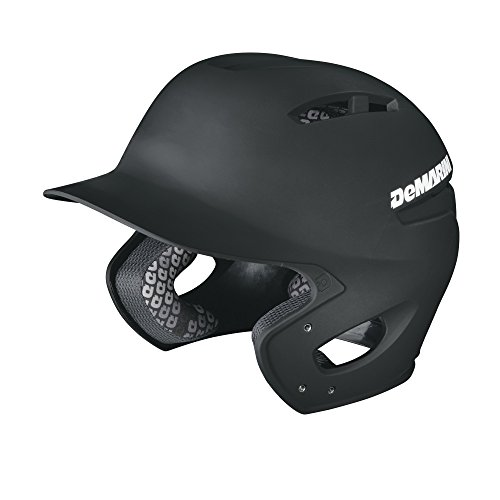 DeMarini Paradox Fitted Pro Batting Helmet XX-Large (7 7/8 - 8), Black, XX-Large (7 7/8 - 8) (Batting Pro Helmet)