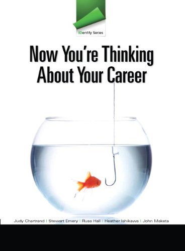 IDentity Series: Now You're Thinking about Your Career by Judy Chartrand (2011-12-22)