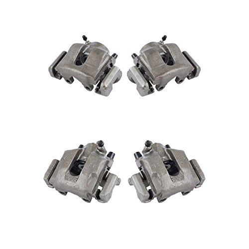 CCK01174 FRONT + REAR [ 4 ] Premium Grade Semi-Loaded OE Caliper Assembly Set Kit ()