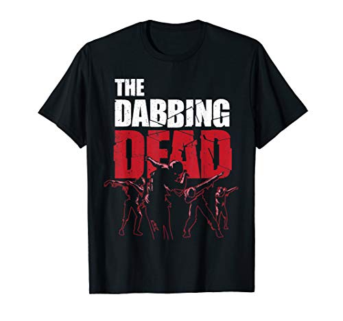 The Dabbing Dead Zombie T-shirt Walking Dab Halloween Gift]()