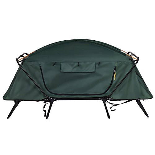 Tangkula Tent Cot Folding Waterproof 1 Person Hiking Camping Tent with Carry Bag by Tangkula (Image #3)