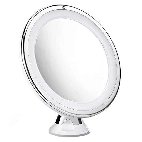 Cymas 7x Magnifying Makeup Mirror, 15 Min Auto ...