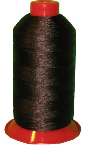 Chocolate Bonded Leather - Item4ever® Chocolate brown Bonded Nylon Sewing Thread T210 #207 1000 Yard for Outdoor, Leather, Upholstery