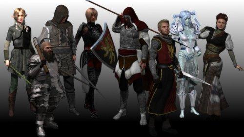 RPG Maker VX DLC - High Fantasy Main Party I Resource Pack [Download]