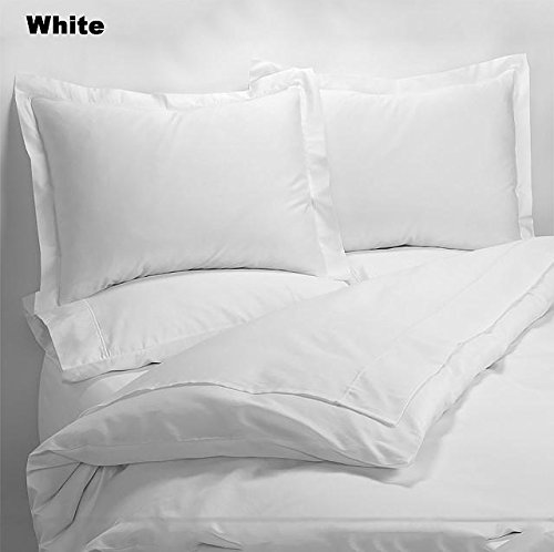 80%OFF Luxury 600 Thread Counts 7pc Bed In A Bag (with 200GSM Comforter) Alaska King Size White Solid 100% Egyptian Cotton- by PARADISEHOUSE