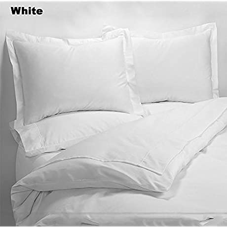 Luxury 600 Thread Counts 7pc Bed In A Bag California Queen Size White Solid 100 Egyptian Cotton By PARADISEHOUSE
