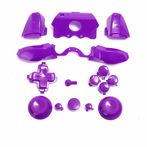 Cheap Bumpers Triggers Buttons DPad LB RB LT RT For Xbox One Elite Controller Purple 3.5mm