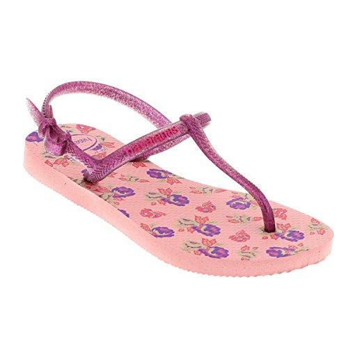 Havaianas , Sandales pour fille rose rose