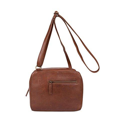 COWBOYSBAG Damen Tasche Umhängetasche Bag Troy Cognac 2002