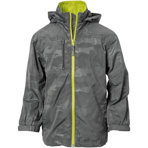 Garb Junior Whitten Waterproof Rain Jacket Camo S by Garb
