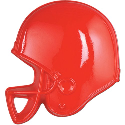 Plastic Football Helmets (asstd colors) Party Accessory  (1 count)