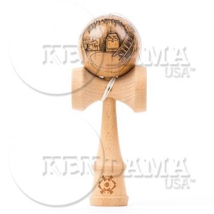 KENDAMA USA けん玉 Custom-カスタム- サワーマッシュ マスターイラストシリーズ #39-Gnome Home B010N4KOTO