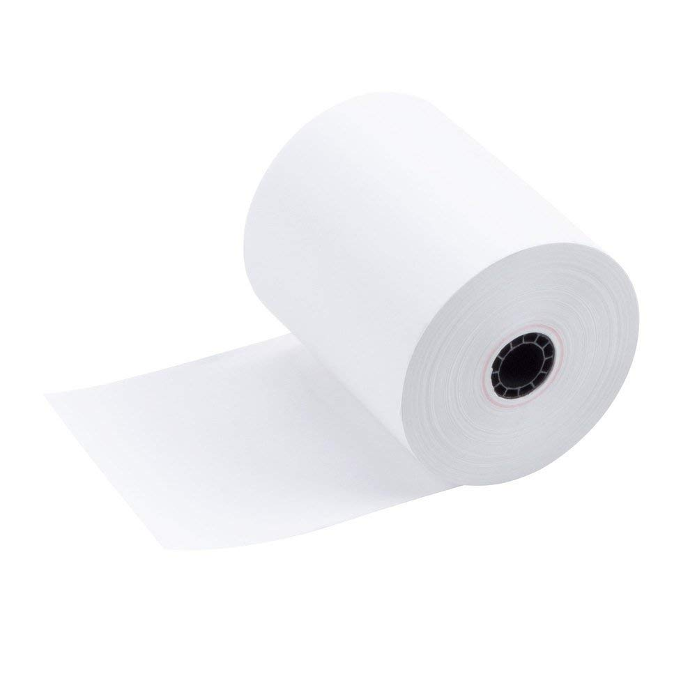 TEK POS Paper 3 1/8 in x 230 ft Thermal Paper - MADE IN THE USA - BPA Free (50 Pack) by TEK POS PAPER