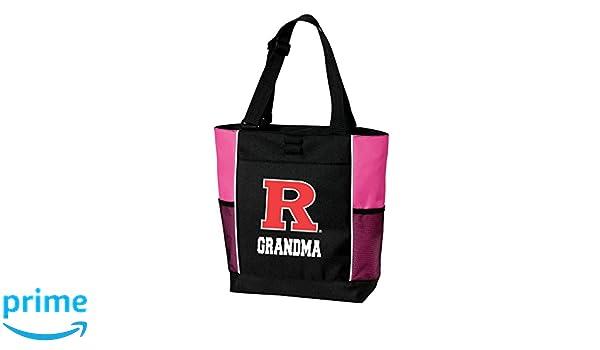 Broad Bay Rutgers University Grandma Tote Bags Red Rutgers Grandma Totes Beach Travel