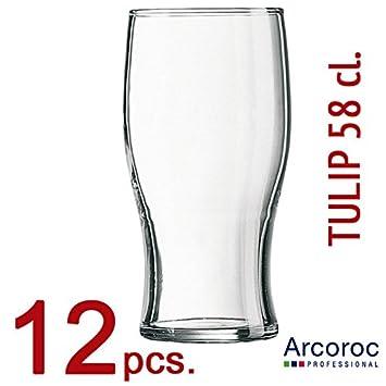 ARCOROC - Set de 12 vasos de cerveza IRLANDA PINT - mod. TULIP Pint ...