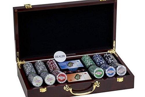 300 Poker ChipセットLas Vegas Vegas Sign木製ケース B00KBMJ3KK 300 B00KBMJ3KK, 浅川町:4af9457d --- itxassou.fr
