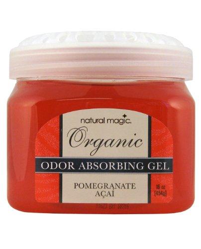 Magic Natural Magic Organic Odor Eliminating Gel, Pomegranate Acai, 16 Ounce