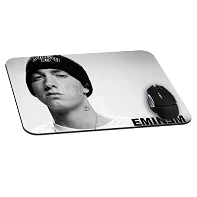 Rectangle Gaming Mouse Pad Mat DIY Pattern Mouspad Rubber Base Mousepads Waterproof Fade Resistant Eminem Cool Star