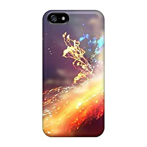 Iphone High Quality Tpu Cases/ Explosions Particles Colors OOw183Diyk Cases Covers For Iphone 5/5s