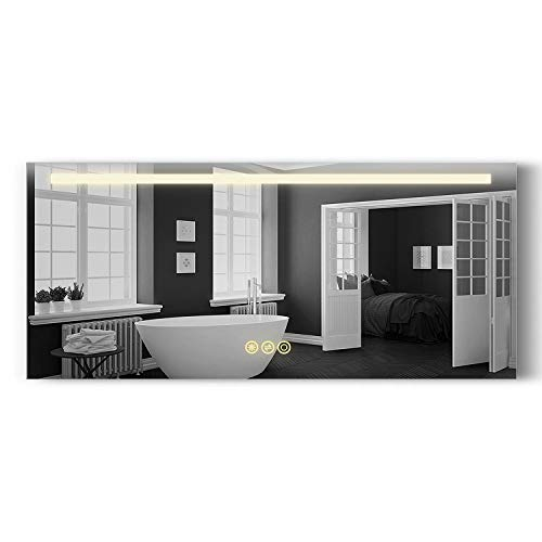 B&C Danube Super Slim Bathroom Mirror 54