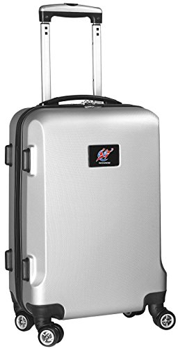NBA Washington Wizards Carry-On Hardcase Spinner, Silver by Denco