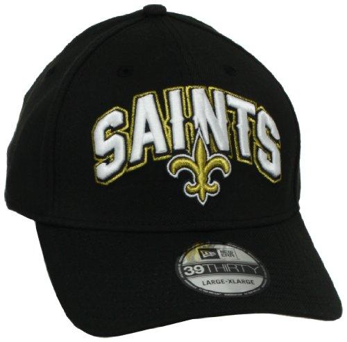 NFL New Orleans Saints Draft 3930 Cap, Black, Small/Medium (Saints Row 2 Vs Saints Row 3)