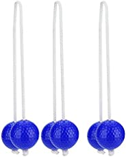 Set 3 Pairs Ladder Toss Game Set Ladder Ball Bolo Replacement Set for Adults and Kids Beach Partey Fun Game
