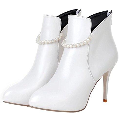 AIYOUMEI Women's Boot AIYOUMEI Women's Boot Boot Women's Classic Classic Women's AIYOUMEI AIYOUMEI White White Classic Classic White wA8fqpIc7t