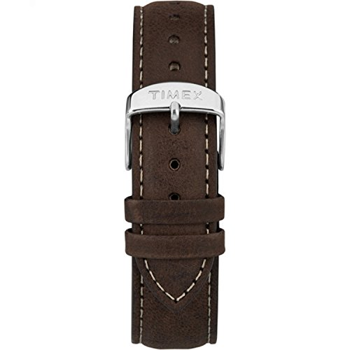 Timex TW7C06300 Metropolitan+ 20mm Dark Brown Leather Strap