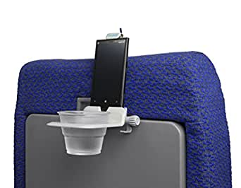 The Airhook Air Travel Cup and Electronics Device Holder (Cool Grey)