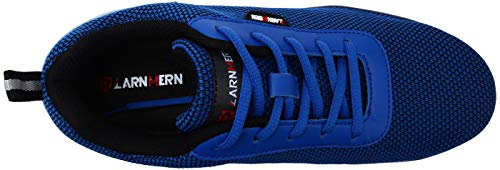 Hombres Marino Acero Azul Reflectivo Transpirable Zapatillas Seguridad Lm Trabajo Liviano 30 De Punta Con Zapatos Ultra fqA4Sw