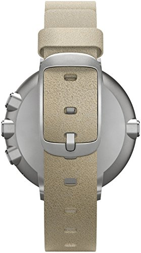 Pebble Time Round 14mm Smartwatch for Apple/Android Devices - Silver/Stone by Pebble Technology Corp (Image #5)