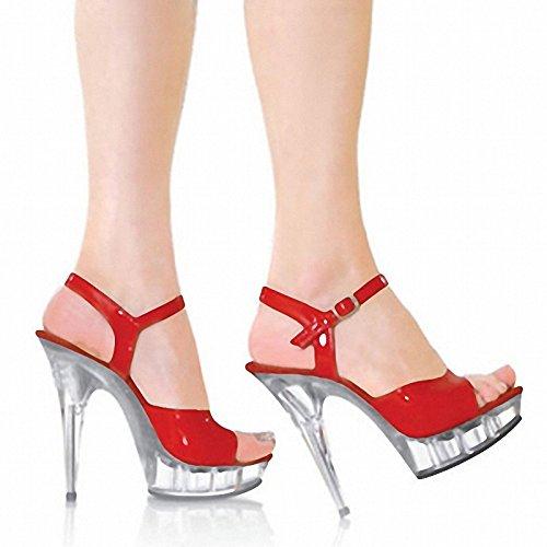 Leder - Sandale 13 cm absätzen des