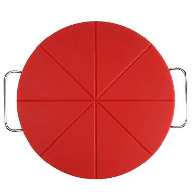 Dexas Pizza Slice and Serve Board, 14-Inch