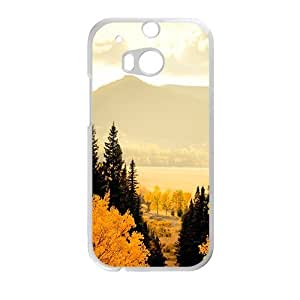 Personalized Creative Cell Phone Case For HTC M8,glam autumn forest beauty scene by ruishername