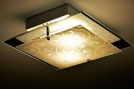 Montage Normal, Ich Kann Sie Weiter Empfehlen. Preis Leistung Hervorragend.  2 Glühbirnen Kosten Mehr Als Die Ganze Lampe.