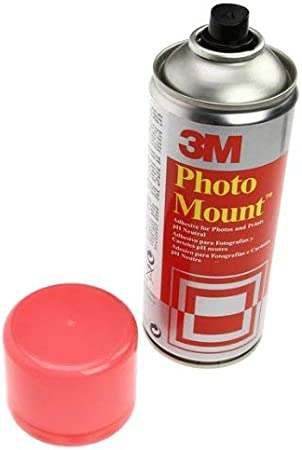 3M Photo Mount - Adhesivo, 400ml: Amazon.es: Oficina y papelería