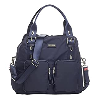 Storksak Alexa Shoulder Bag Diaper Bag, Navy