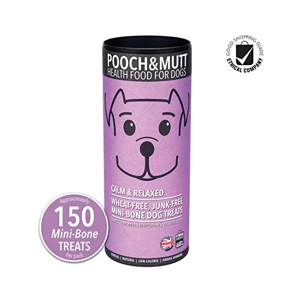 Pooch and Mutt Calm and Relaxed Mini-Bone Dog Treats 1