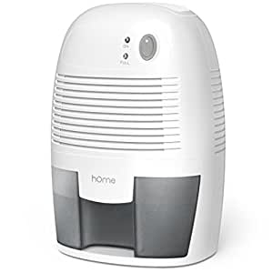 Amazon.com - hOme Small Dehumidifier for 1200 cu ft (150 sq ft ...