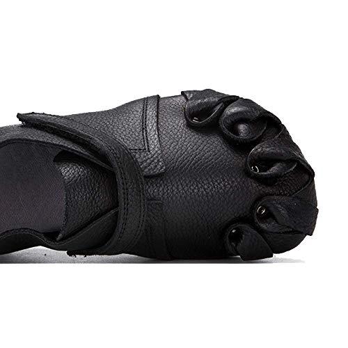 pour noir à décontracté porter automne la rétro femmes Zpedy confortable mode chaussures W4Ov5RY5qp