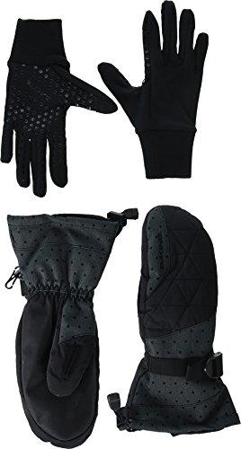 Dakine Women's Camino Insulated Mittens, Pixie, (Dakine Storm Glove Liner)