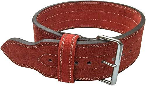 FlexzFitness Single Prong Power Lifting Belt - Weightlifting Back Support Belt for Men and Women