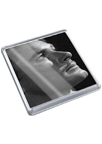 ERROL FLYNN - Original Art Coaster #js002